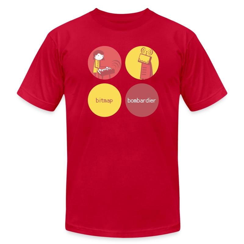 Bitmap Bombardier (M) - Men's Fine Jersey T-Shirt