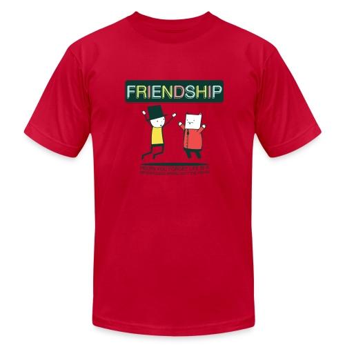 Friendship (M) - Men's Fine Jersey T-Shirt