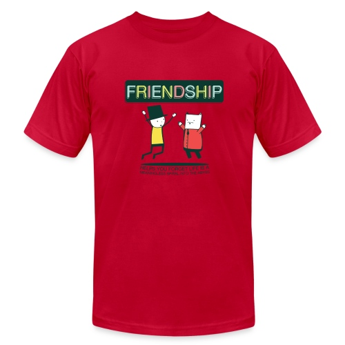 Friendship (M) - Men's  Jersey T-Shirt