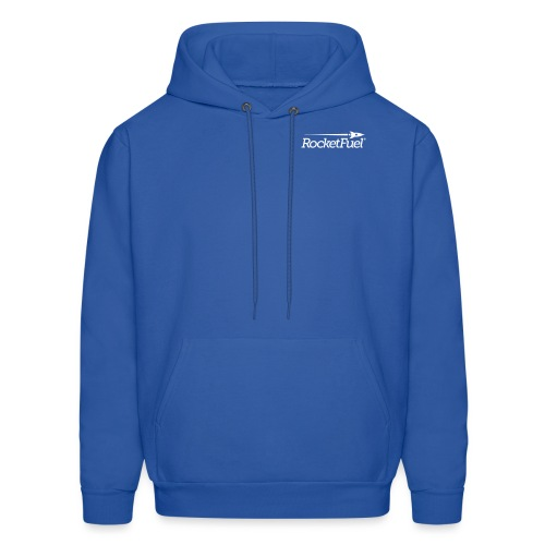 RocketFuel Logo Men's Hooded Sweatshirt - Men's Hoodie