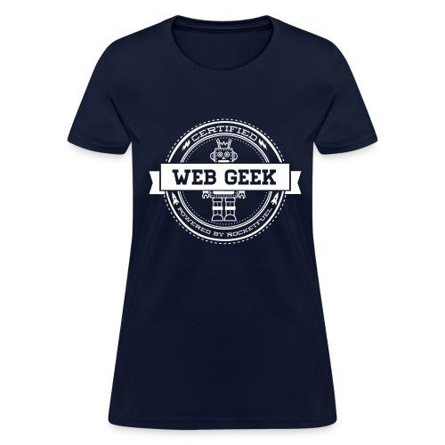 Web Geek Robot Women's T-Shirt by Gildan - Women's T-Shirt