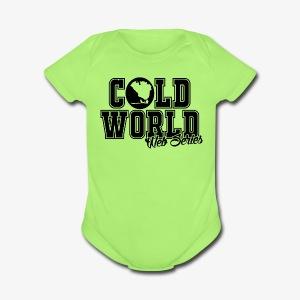 CWWS Logo Baby Tee Shirt - Short Sleeve Baby Bodysuit