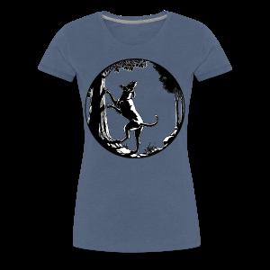 Hound Dog Shirt Hunting Dog Gifts Women's - Women's Premium T-Shirt