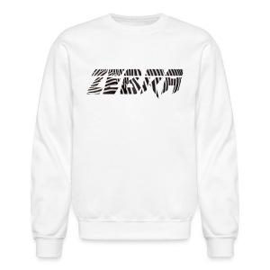Zébra Stripes Crewneck - Crewneck Sweatshirt