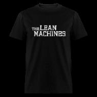 T-Shirts ~ Men's T-Shirt ~ The Lean Machines Men's T-Shirt - Black