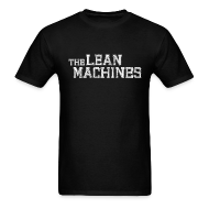 T-Shirts ~ Men's T-Shirt ~ The Lean Machines Men's T-Shirt - Black