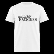 T-Shirts ~ Men's T-Shirt ~ The Lean Machines Men's T-Shirt - White