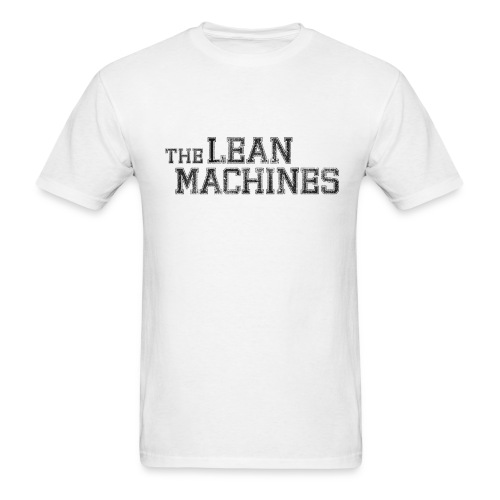 The Lean Machines Men's T-Shirt - White - Men's T-Shirt