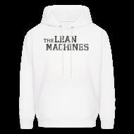 Hoodies ~ Men's Hoodie ~ The Lean Machines Men's Hoodie - White