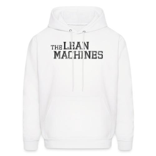The Lean Machines Men's Hoodie - White - Men's Hoodie