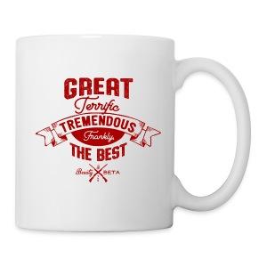 Frankly, the Best (Mug, Red Print) - Coffee/Tea Mug