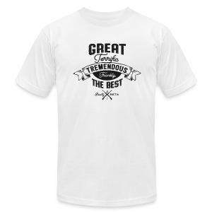 Frankly, the Best (Men's, Black Print) - Men's Fine Jersey T-Shirt