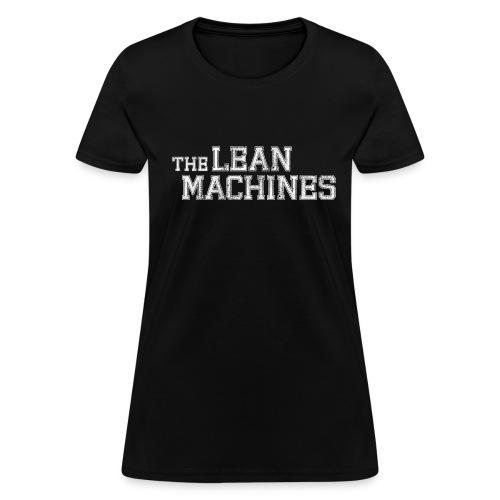 The Lean Machines Women's T-Shirt - Black - Women's T-Shirt