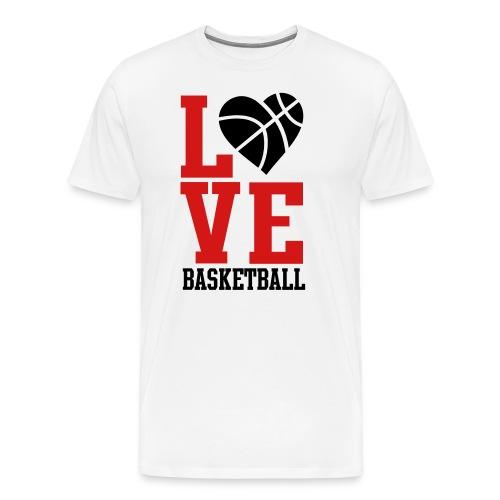 Love Basketball T-Shirt - Men's Premium T-Shirt