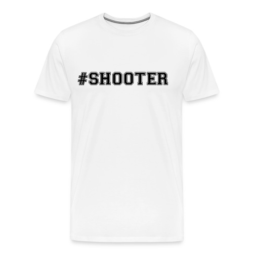 Shooter Basketball T-Shirt - Men's Premium T-Shirt
