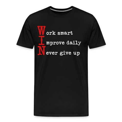 Win Basketball T-Shirt - Men's Premium T-Shirt