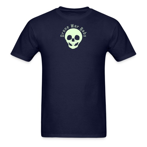 Drone War Baby Glow in Dark - Men's T-Shirt