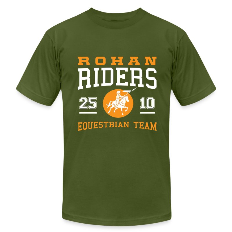 Rohan Riders - Men's T-Shirt by American Apparel