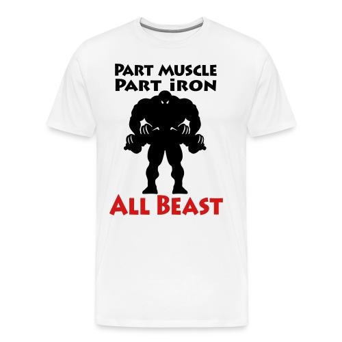 All Beast Gym T-Shirt - Men's Premium T-Shirt