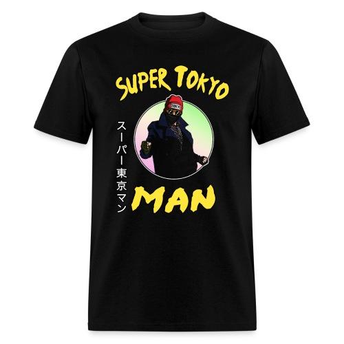 Super Tokyo Man Black - Men's T-Shirt