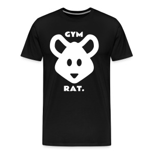 Gym Rat T-Shirt - Men's Premium T-Shirt