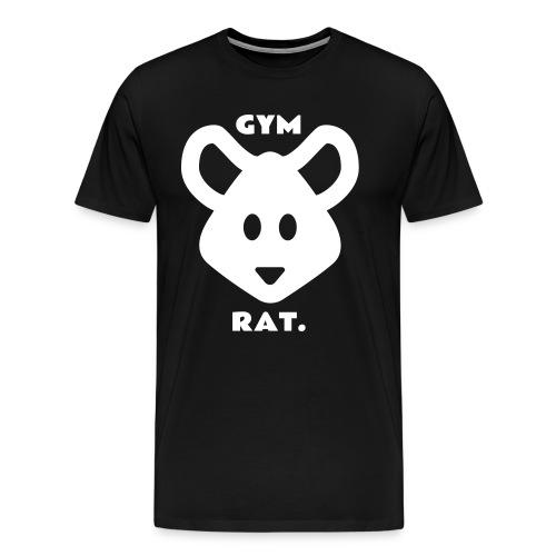 Gym Rat T-Shirt - Men's Premium T-Shirt
