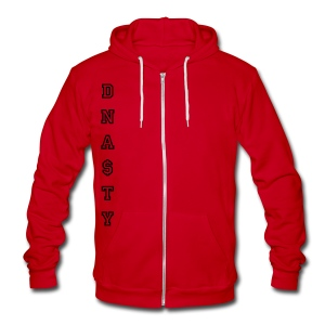 DNA$TY Zipper Hoodie (Unisex) - Unisex Fleece Zip Hoodie by American Apparel