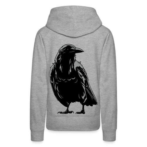 Women's Follow the Raven Hoodie - Women's Premium Hoodie