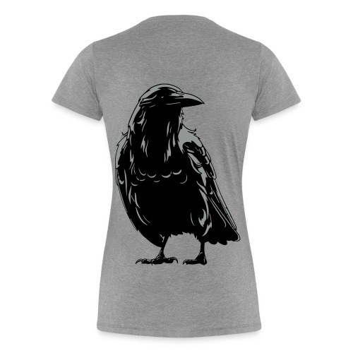 Women's Follow the Raven T-shirt - Women's Premium T-Shirt