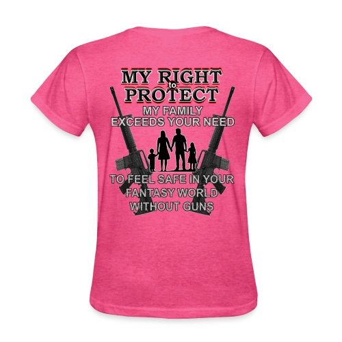 Ladies Right To Protect - Women's T-Shirt