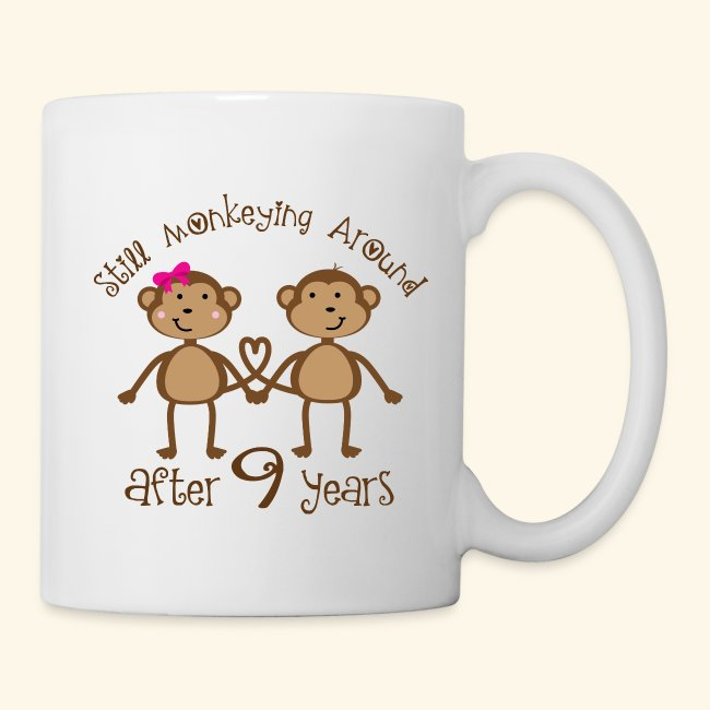 9th Wedding Anniversary Gift.9th Anniversary Funny Gift For Couples Coffee Tea Mug