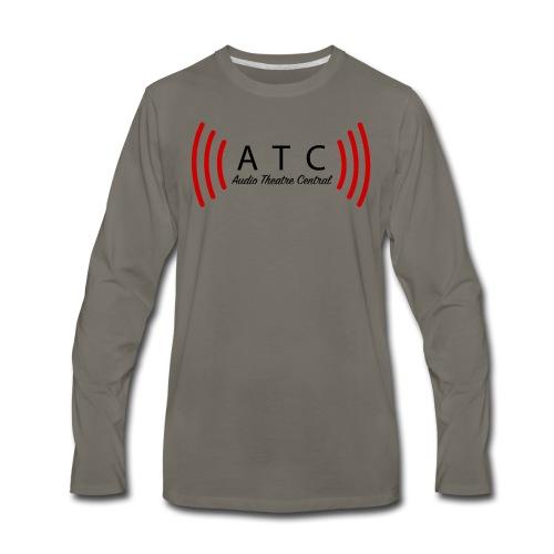 ATC Logo | Men's Long Sleeve - Men's Premium Long Sleeve T-Shirt
