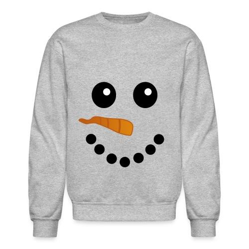 Snow Man face aweater - Crewneck Sweatshirt