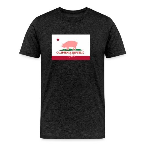 CA_Pig_Republic - Men's Premium T-Shirt