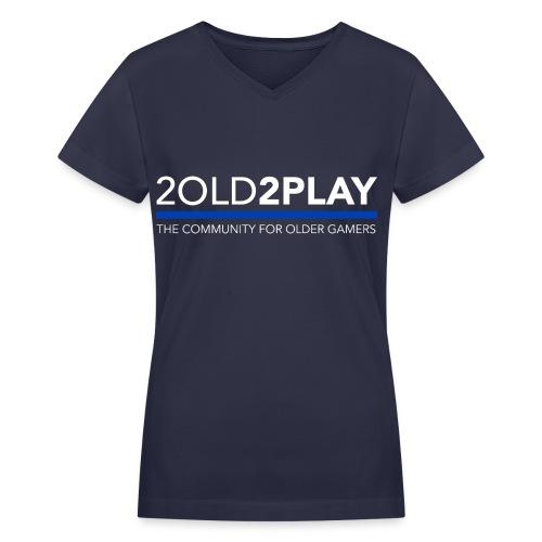 Women's 2018 2o2p Dark V-Neck T-Shirt - Women's V-Neck T-Shirt