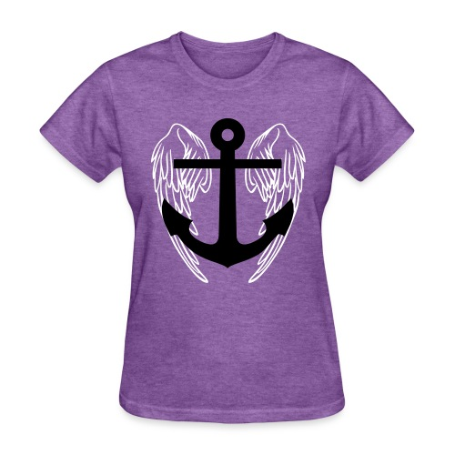 Winged Anchor Tee - Women's T-Shirt
