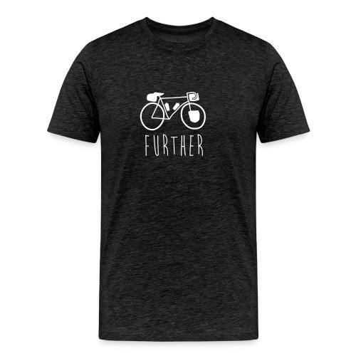 Bike Further Mens - Men's Premium T-Shirt