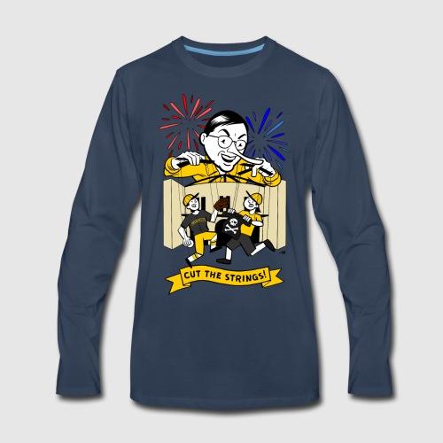 Cut The Strings - Men's Premium Long Sleeve T-Shirt