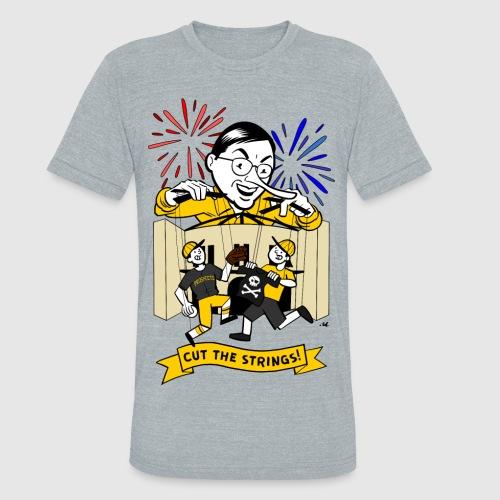 Cut The Strings - Unisex Tri-Blend T-Shirt