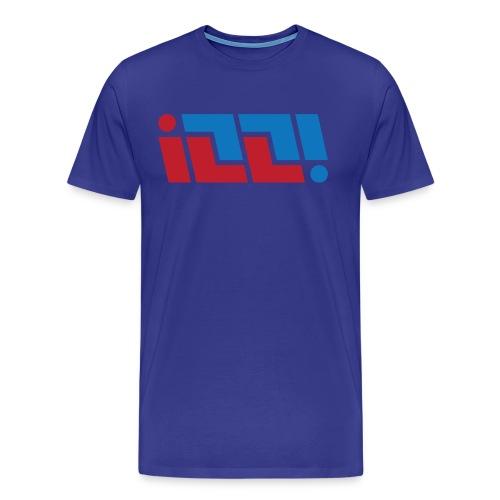 ILL! Ambigram - Men's Premium T-Shirt
