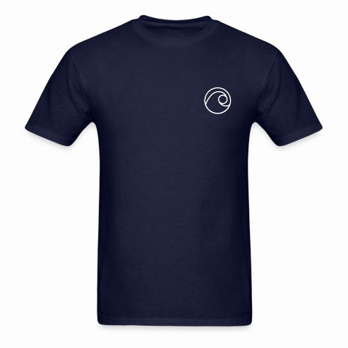Navy Flewit Music T - Men's T-Shirt