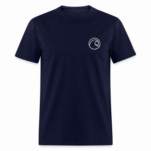 Navy Flewit Music T - Men's T-Shirt