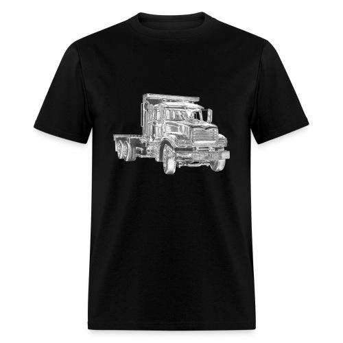 Flatbed Truck - Men's T-Shirt