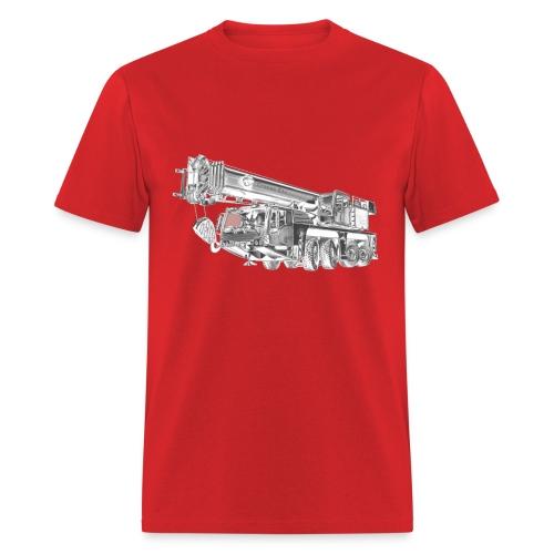 Mobile Crane 4-axle - Men's T-Shirt