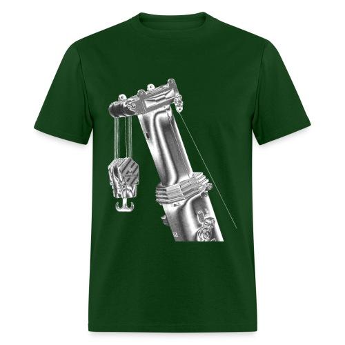 Mobile Crane Boom Top - Men's T-Shirt