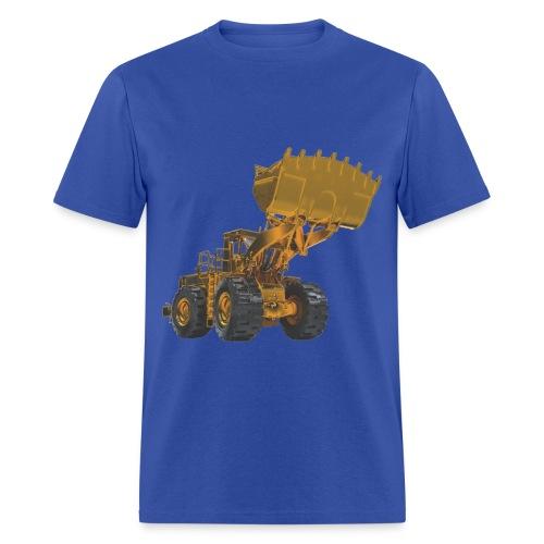 Old Mining Wheel Loader - Yellow - Men's T-Shirt
