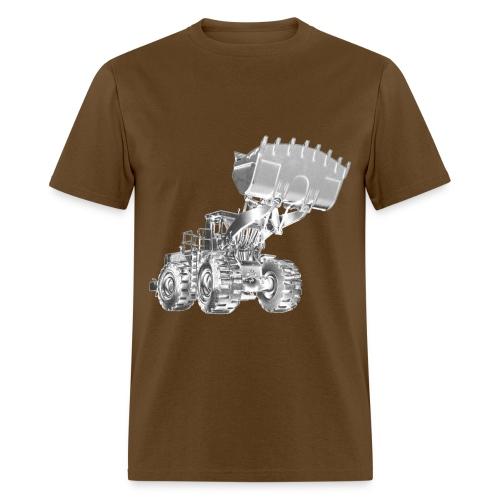 Old Mining Wheel Loader - Men's T-Shirt