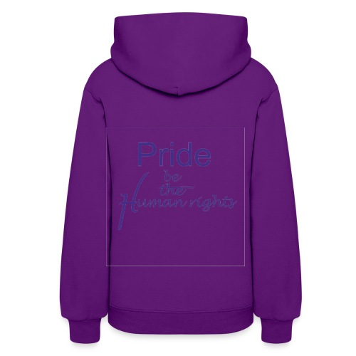 human rights - Women's Hoodie