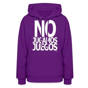No Jugamos Juegos™ - Women's Hoodie