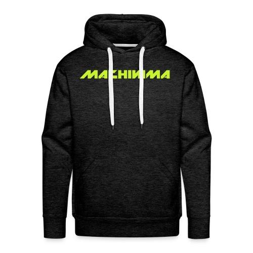 Machinima Hoodie - Vertical logo - Men's Premium Hoodie